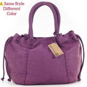 Linea Pelle Alyssa Leather Shoulder Bag